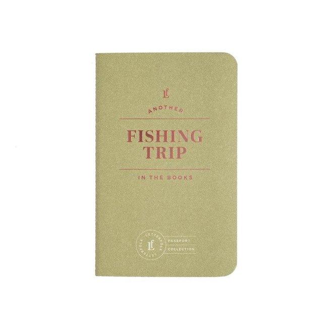 Letterfolk Fishing Trip Passport