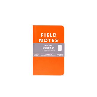 Field Notes Expedition 3-set
