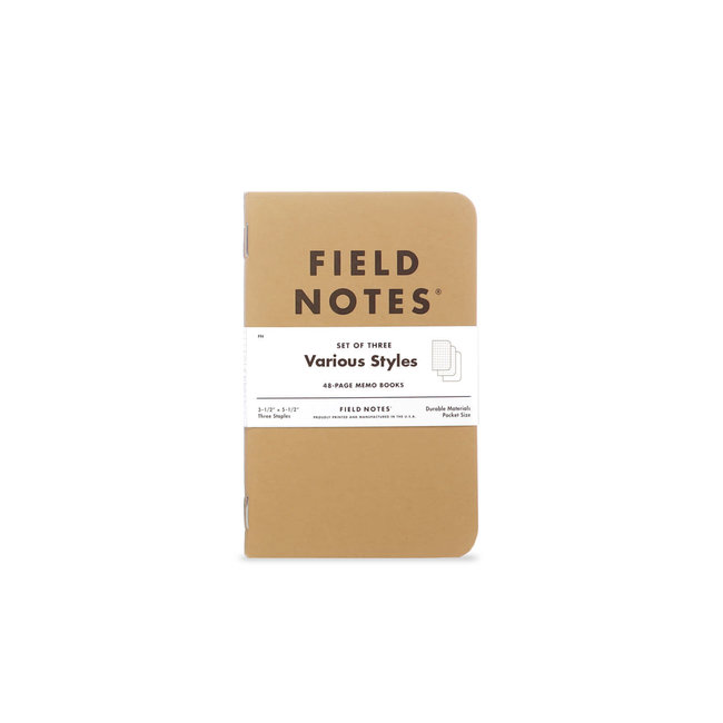 Field Notes Mixed 3-set