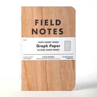 Field Notes Cherry Wood