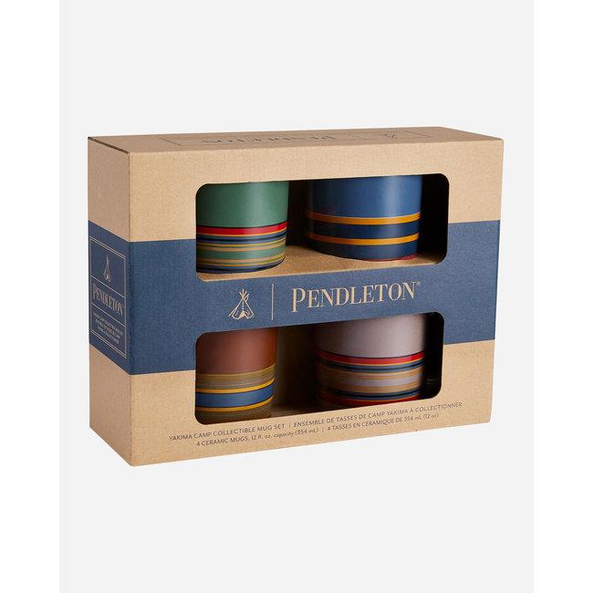 Pendleton 12oz Ceramic Mug Set of 4