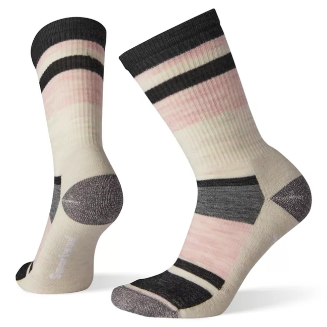 Smartwool Women's Striped Light Hiking Crew Socks