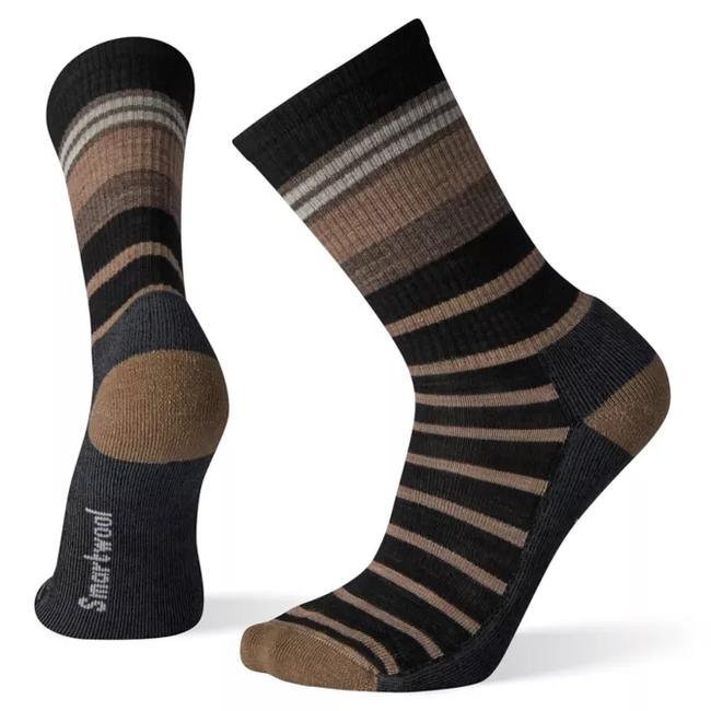 Smartwool Men's Striped Light Hiking Crew Socks