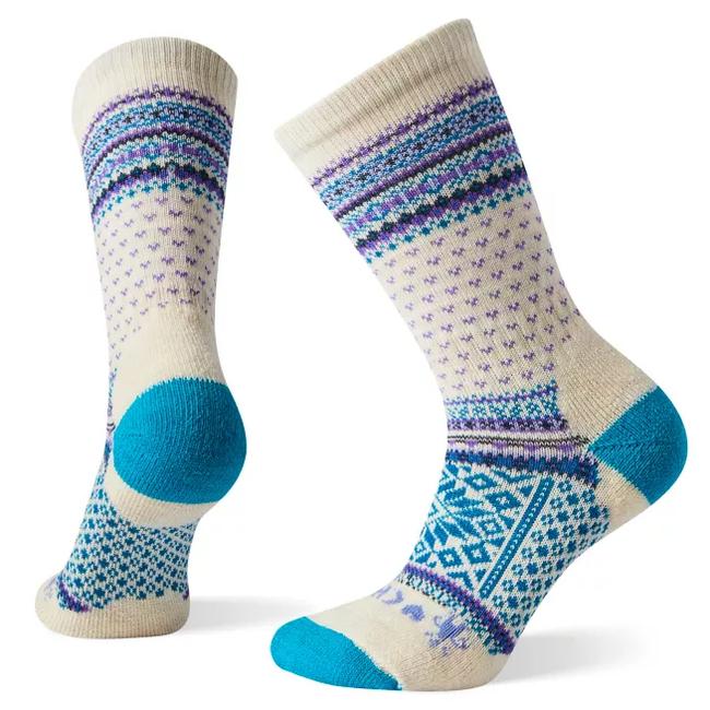 Smartwool Women's CHUP Snowflake Volt Crew Socks