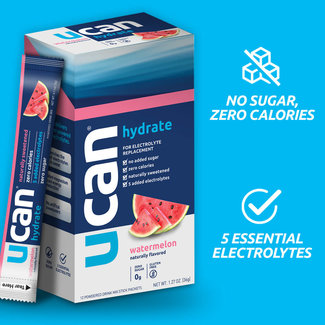 UCAN Hydrate Electrolyte Single Serve Packet