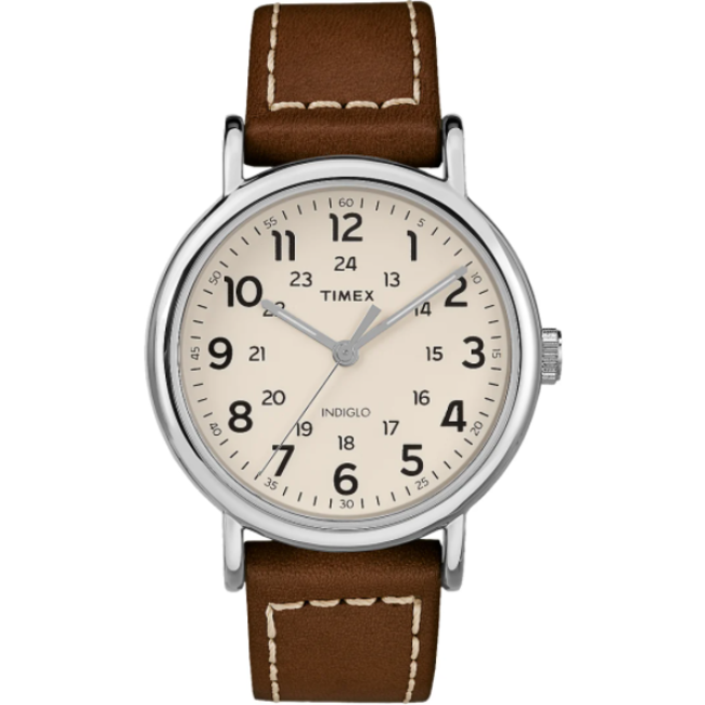 TimeX Weekender Leather Band