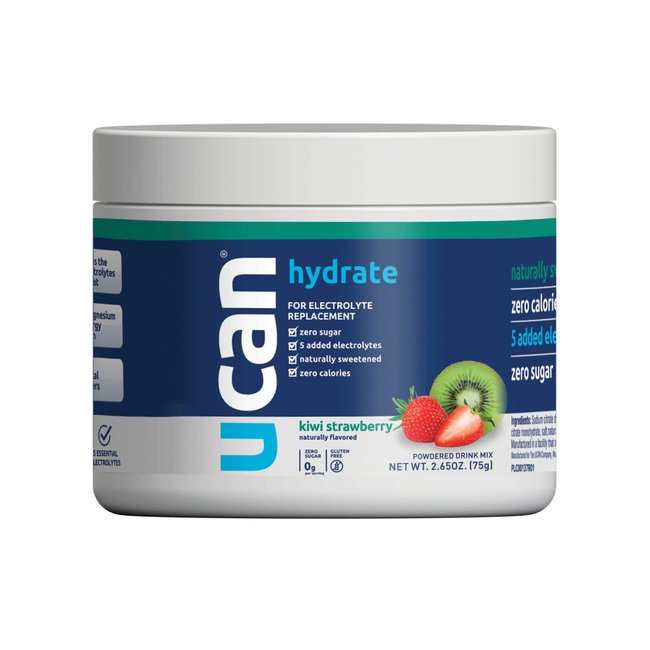 UCAN Hydrate Electrolyte 30 Serving Jar