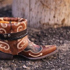 Canty Boots: the Bonnie Pipin, Size 7