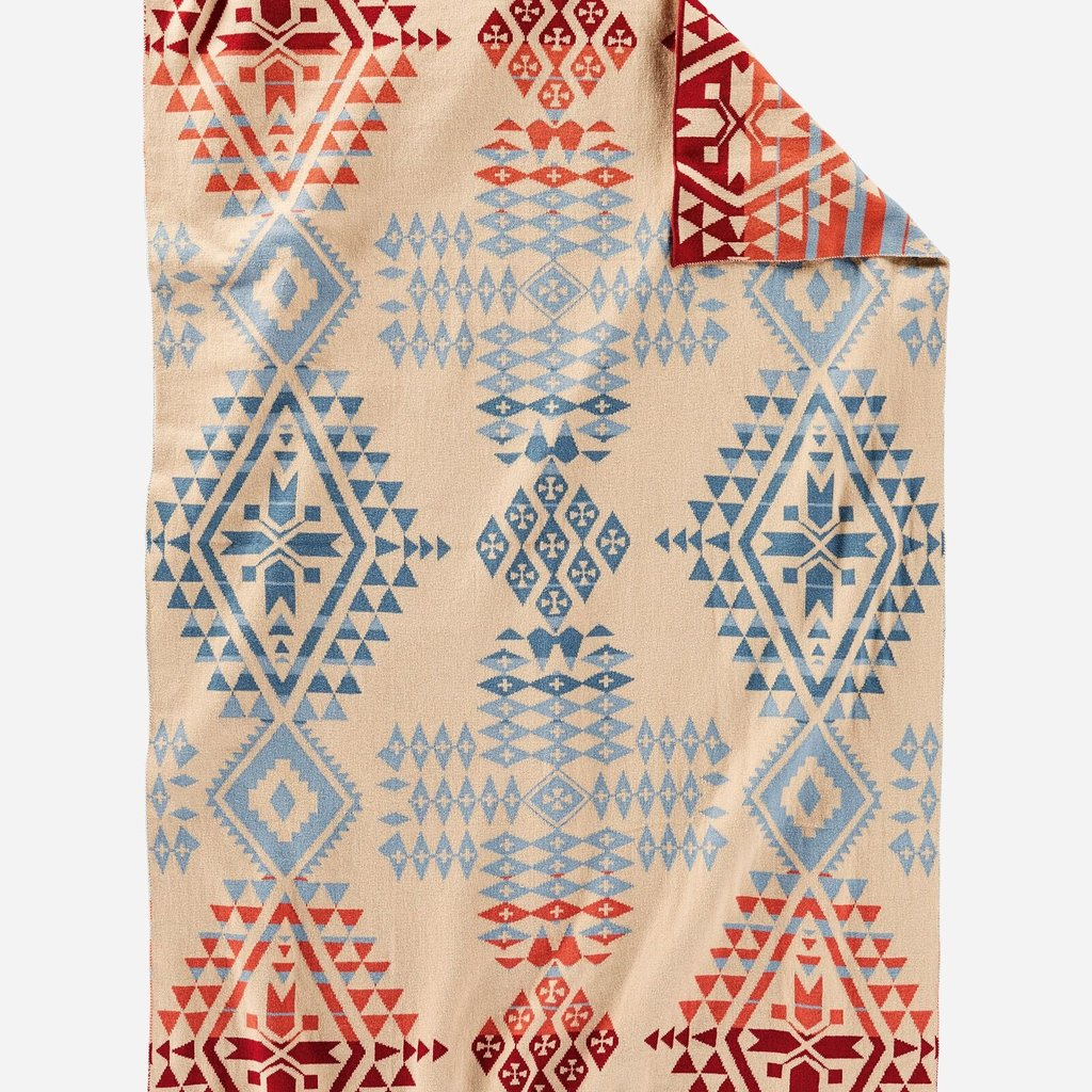 Pendleton Pendleton | Knit Baby Blanket with Beanie | Canyonlands Desert Sky