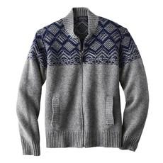 Pendleton Mosaic Yoke Zip Sweater