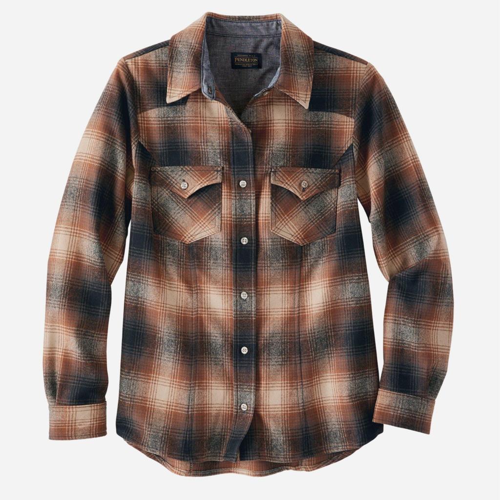 Pendleton Shaniko Wool Western Shirt