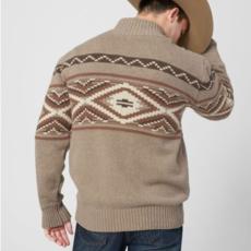 Aztec Knit Sweater