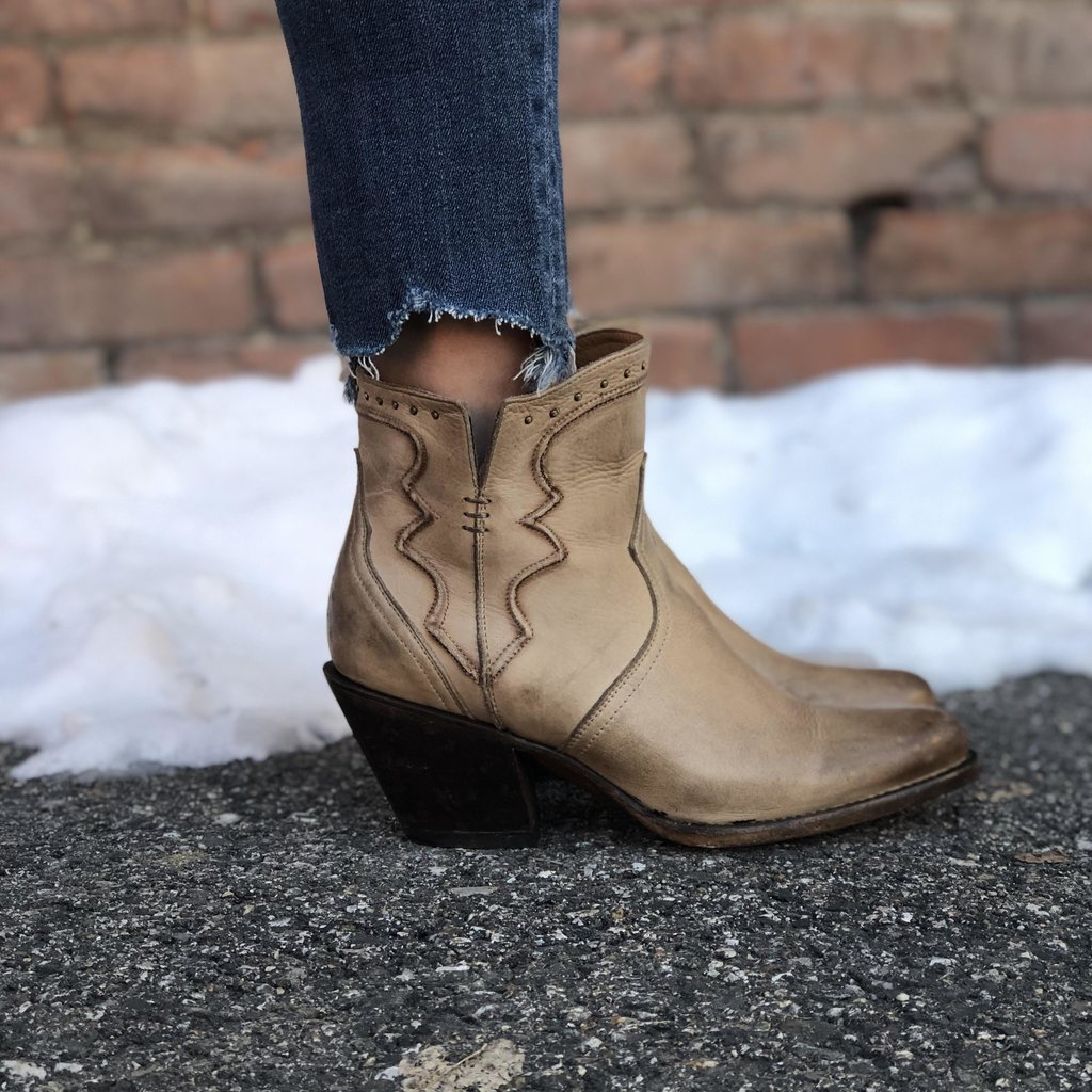 Lucchese Lucchese | Bone Distressed Bootie