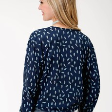 Roper | Feather Printed Blouse