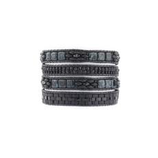Black Queenie Lilybead Bracelet