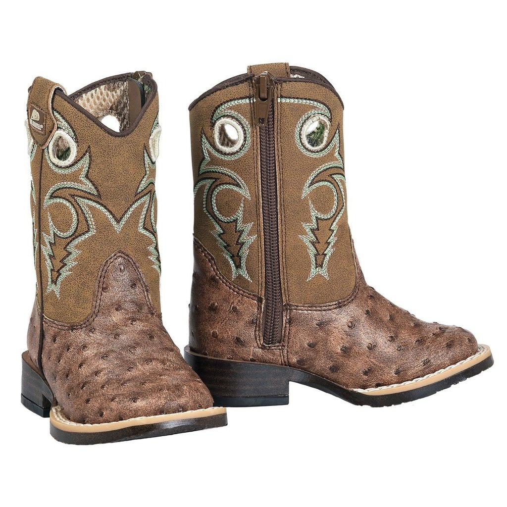 M&F Western | Brant Toddler Ostrich Boots