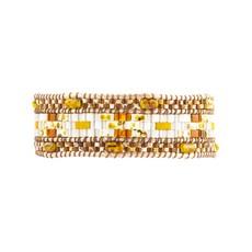 Brown Petula Wrap Bracelet