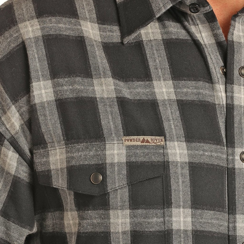 Brushed Plaid Snap
