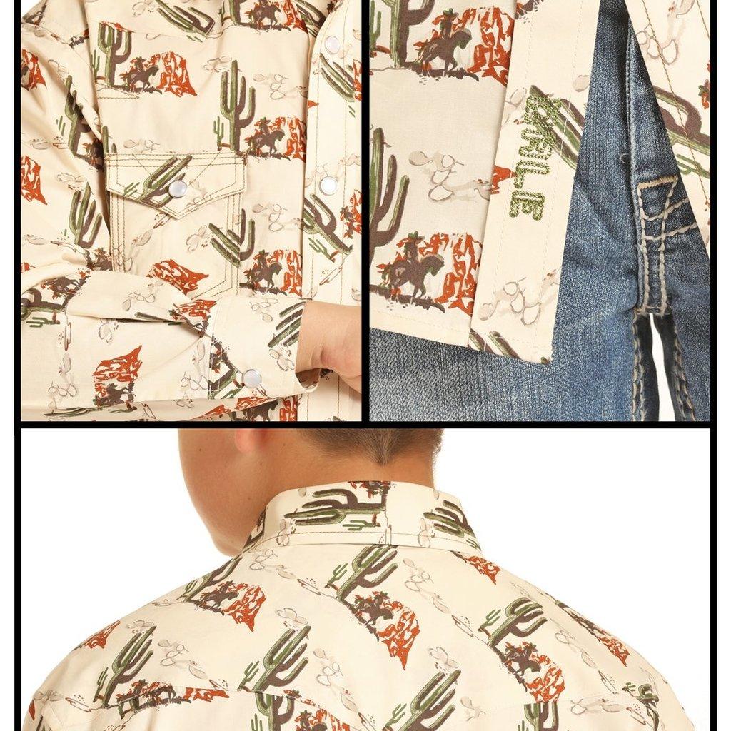 Cactus Snap Shirt