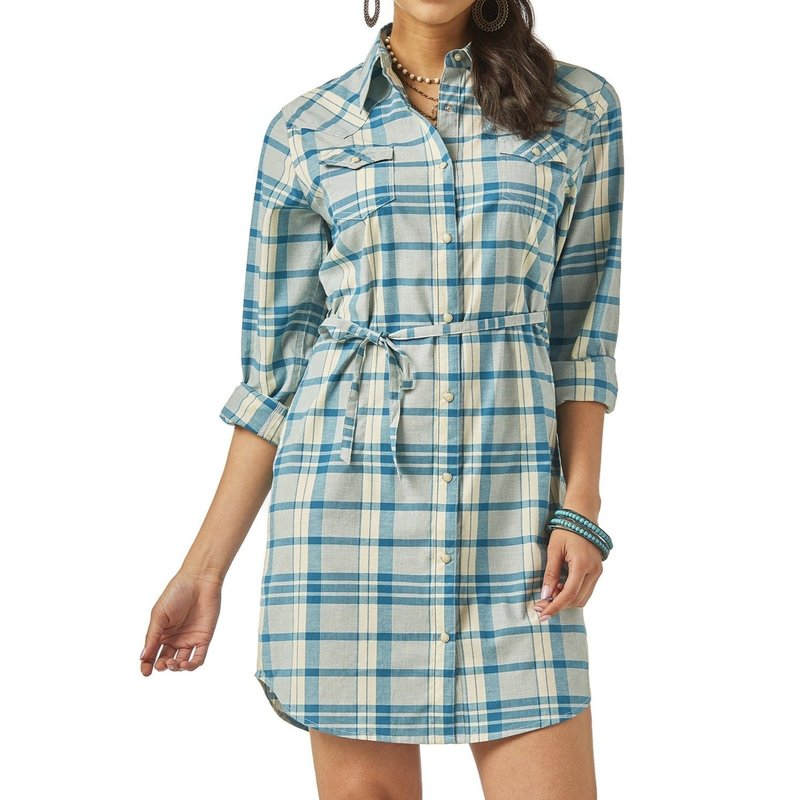 Wrangler | Checked Dress