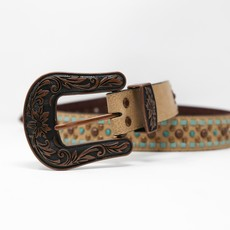M&F Western | Copper Studded Belt