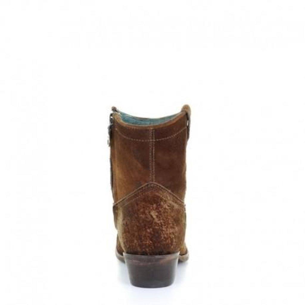 Corral | Lamb Abstract Short Boot