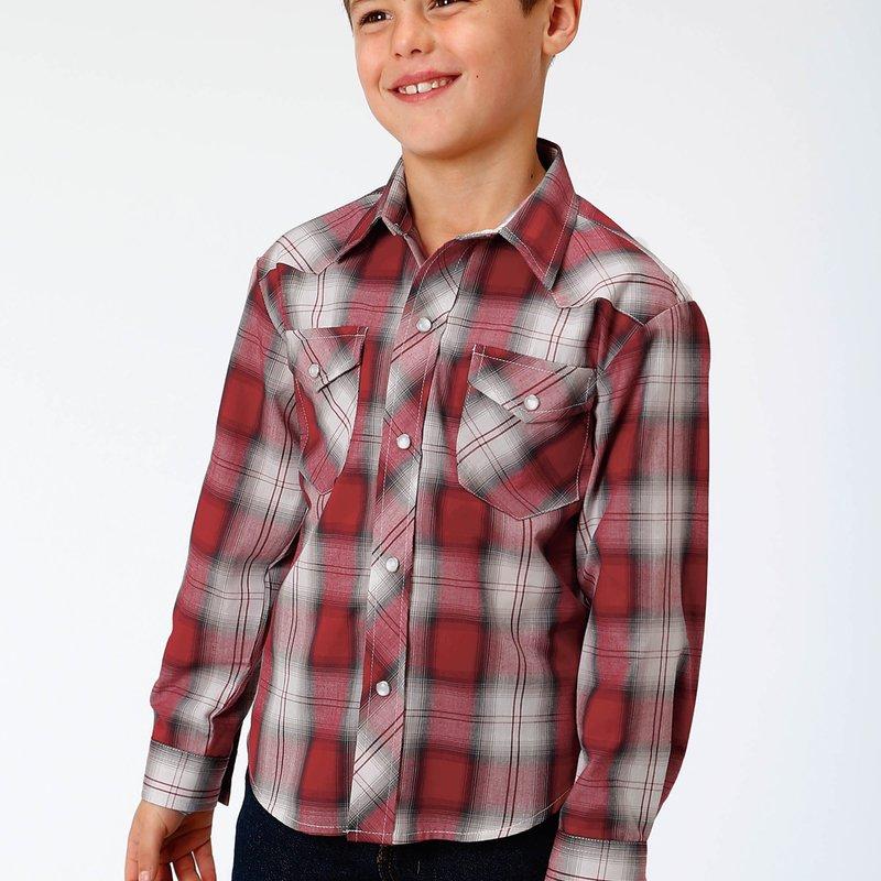 Roper   Kid's Western Snap