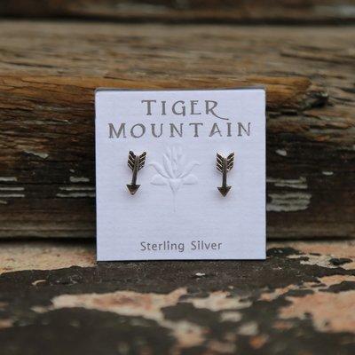 Tiny Arrow Earrings