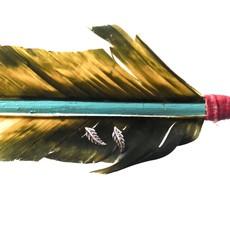 Sterling | Feather Stud Earrings