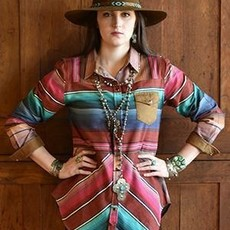 Rodeo Shirt by Tasha Polizzi