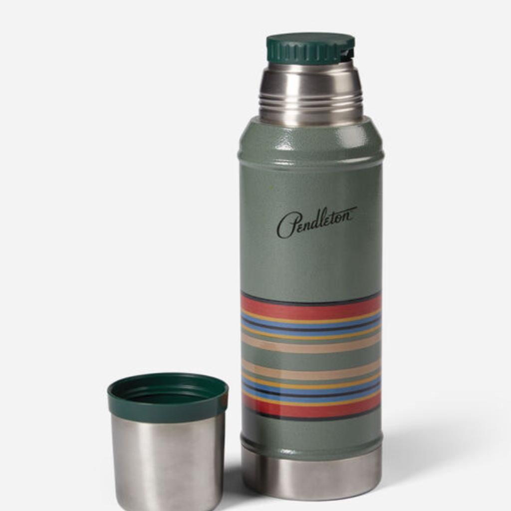 Pendleton Pendleton | Stainless Steel Bottle Thermos | Hammertone Green