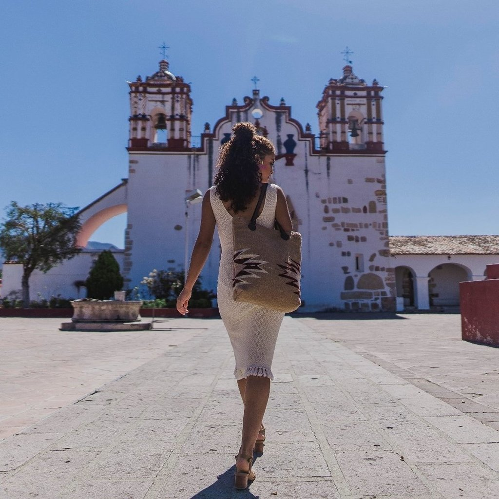Manos Zapotecas Manos Zapotecas | Sepia Bucket Tote