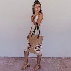 Manos Zapotecas | Sepia Bucket Tote
