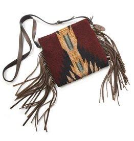 Manos Zapotecas Shadow Fringe Bag