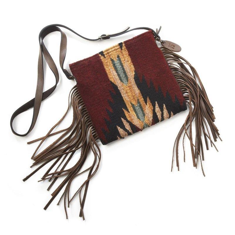Manos Zapotecas | Shadow Fringe Bag