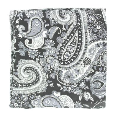 M&F Western | Black Paisley Silk Scarf