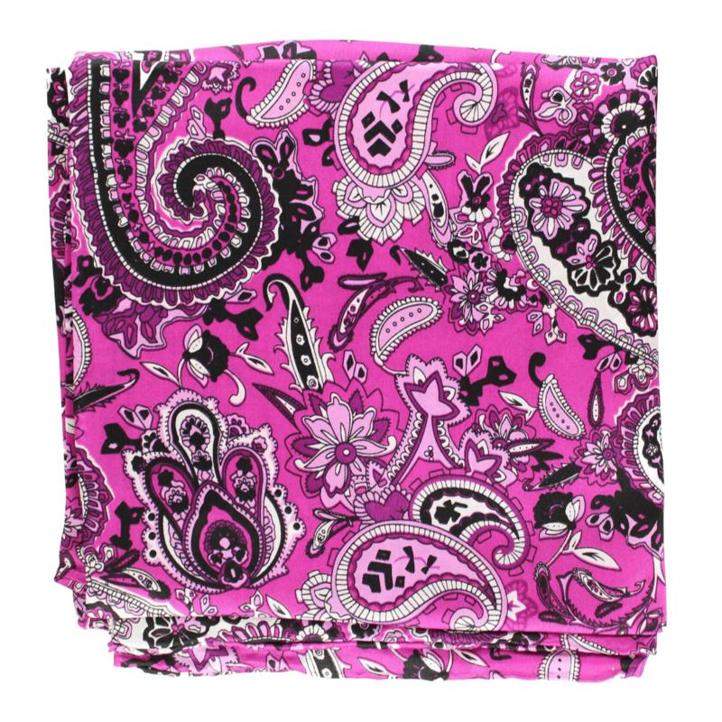 M&F Western | Pink/Purple Paisley Silk Scarf