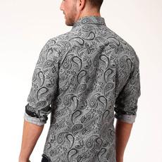 Black Paisley S/S Shirt