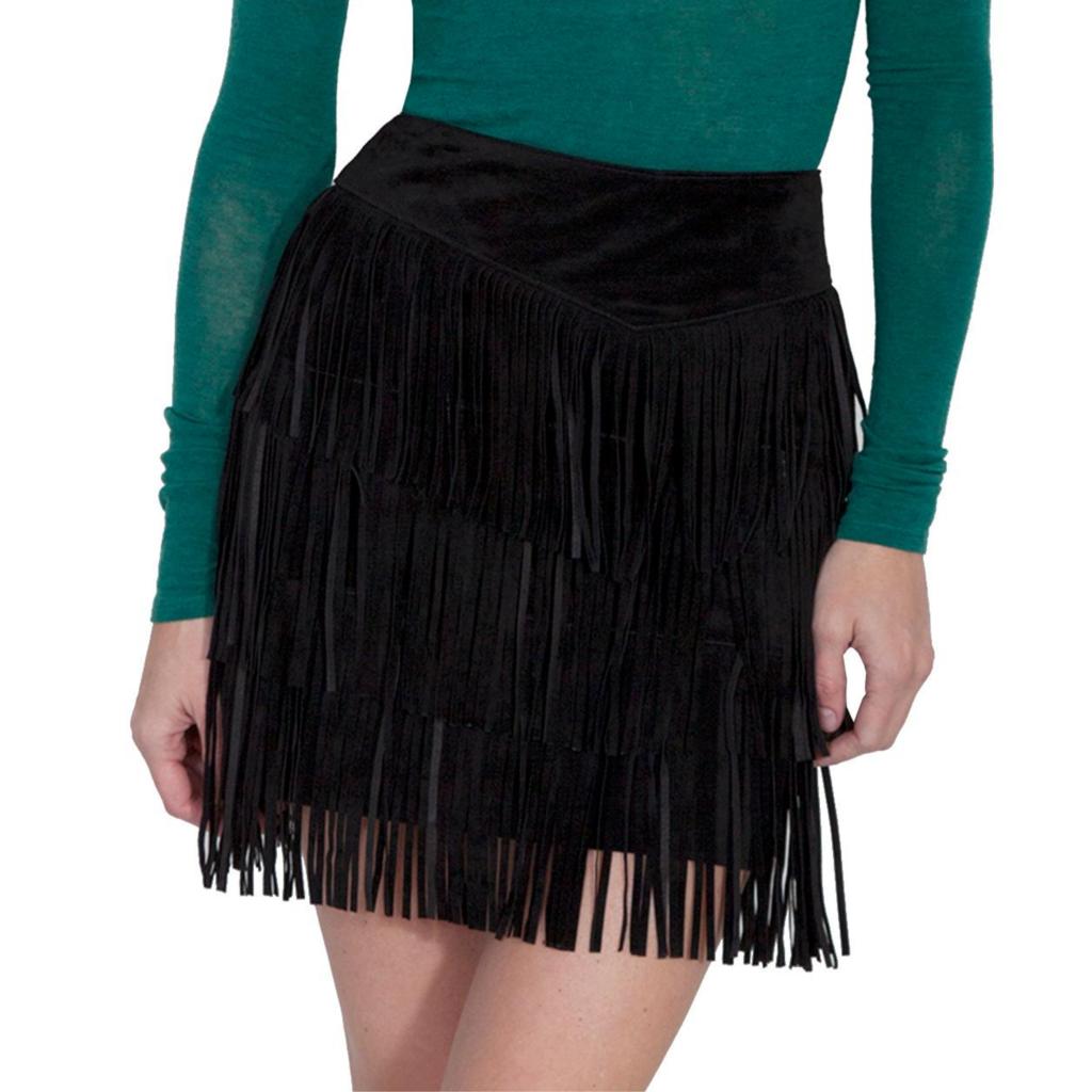 Scully | Fringe Skirt