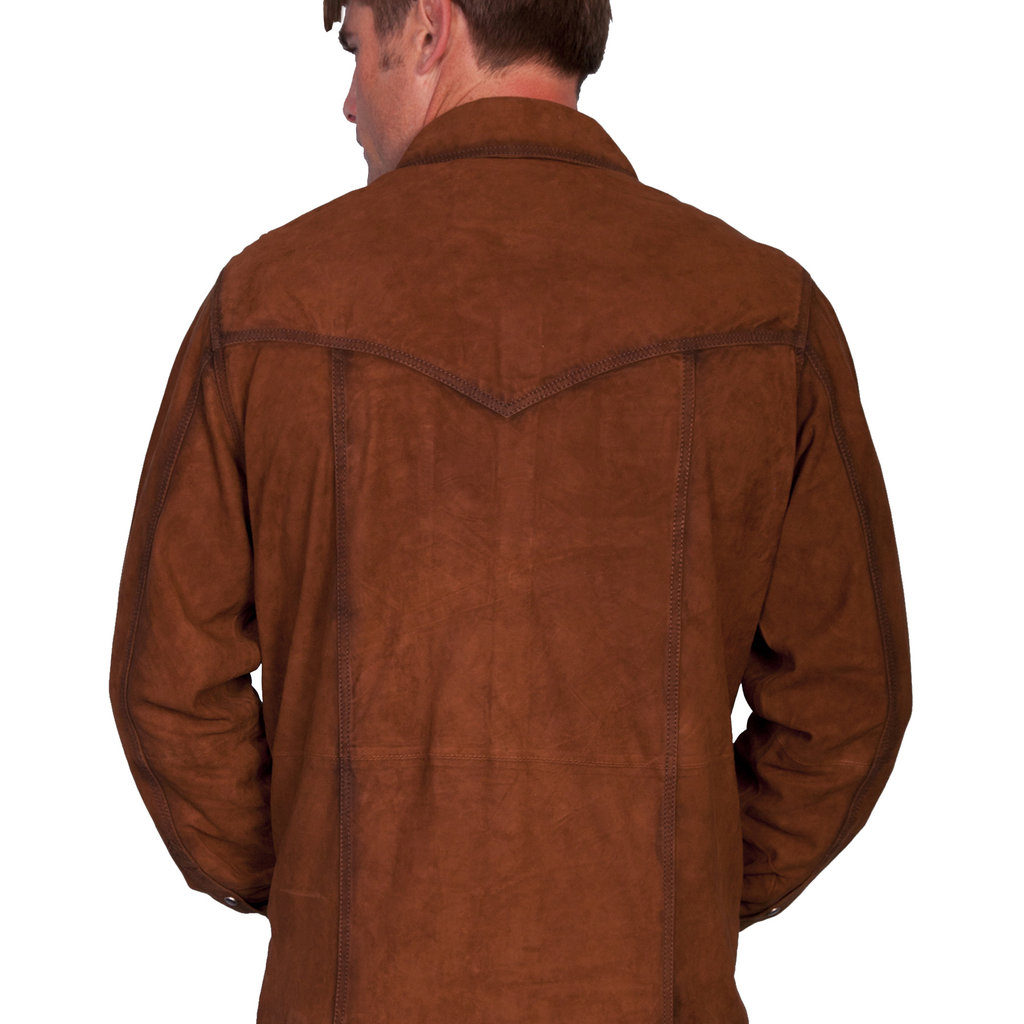 Scully Leather Western Pearl Snap