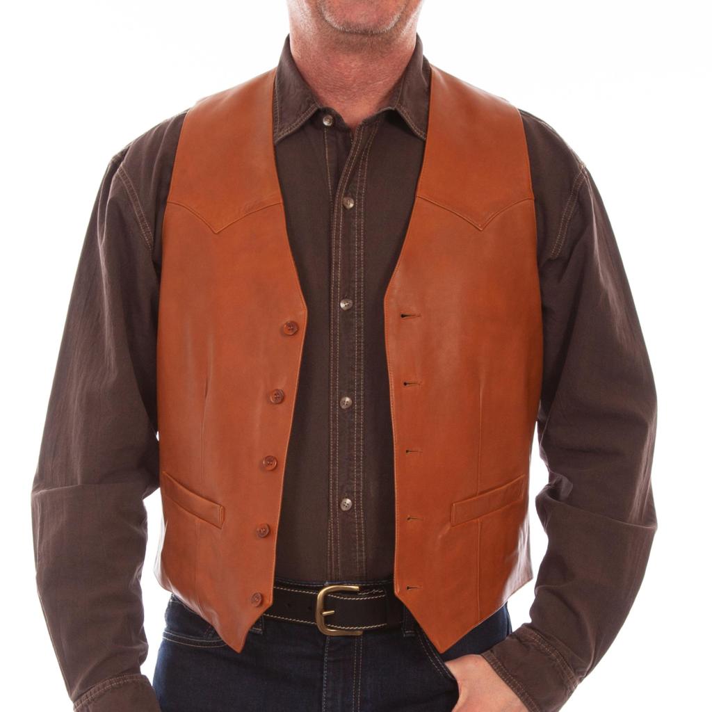 Scully Lambskin Vest