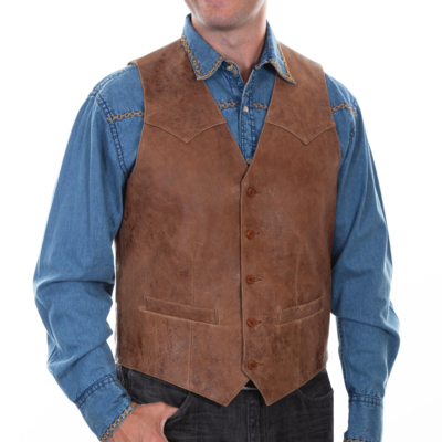 Scully Vintage Leather Vest