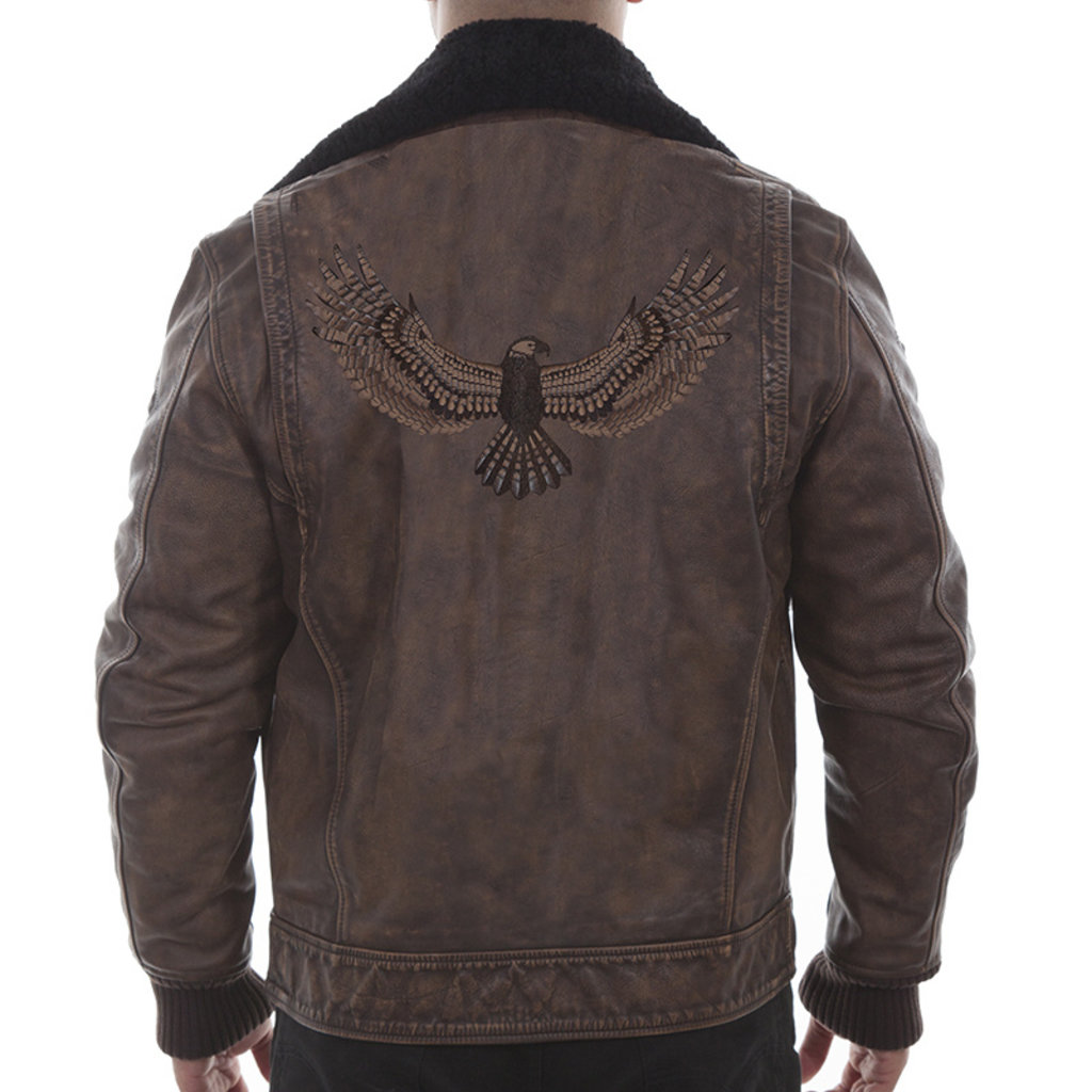 Scully Eagle Bomber Jacket