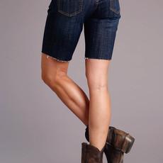 Denim Mid Thigh Short