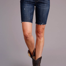 Stetson | Denim Mid Thigh Short