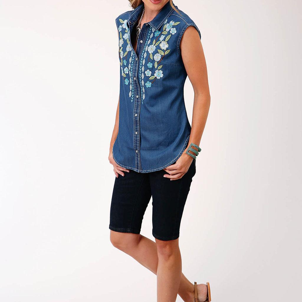 Roper | Denim Sleeveless Shirt