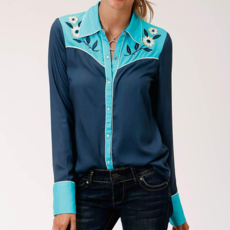 Roper | Rayon Challis Western Shirt