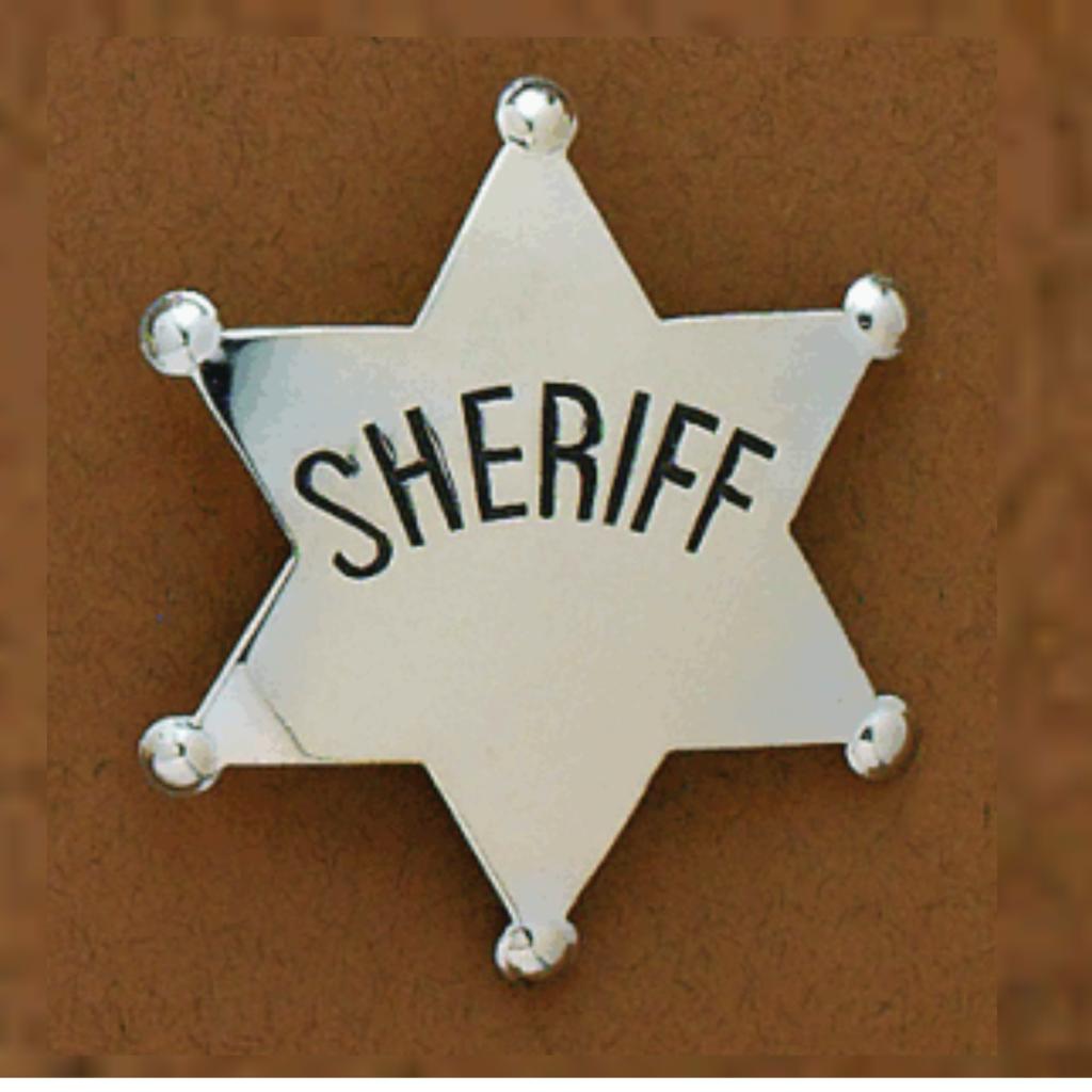 M&F Western   Sheriff Badge