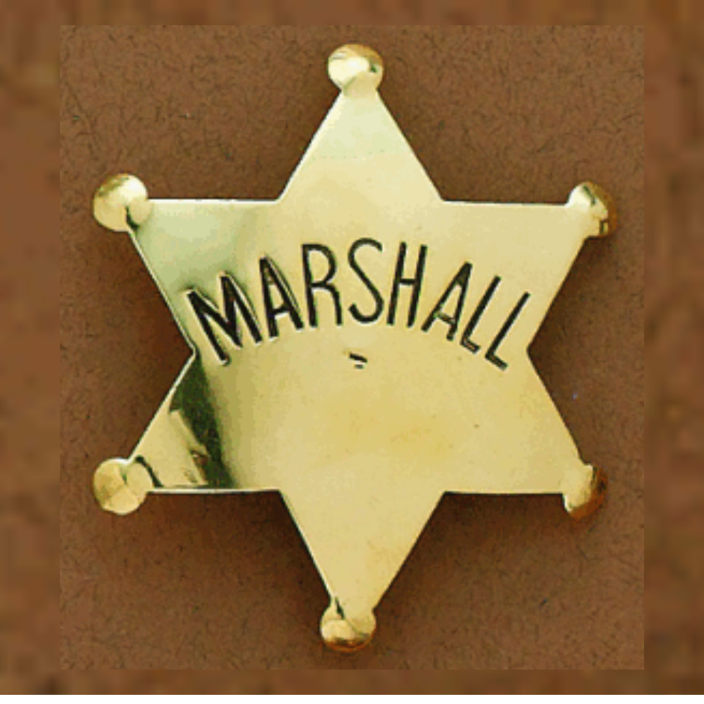 M&F Western | Marshall Badge