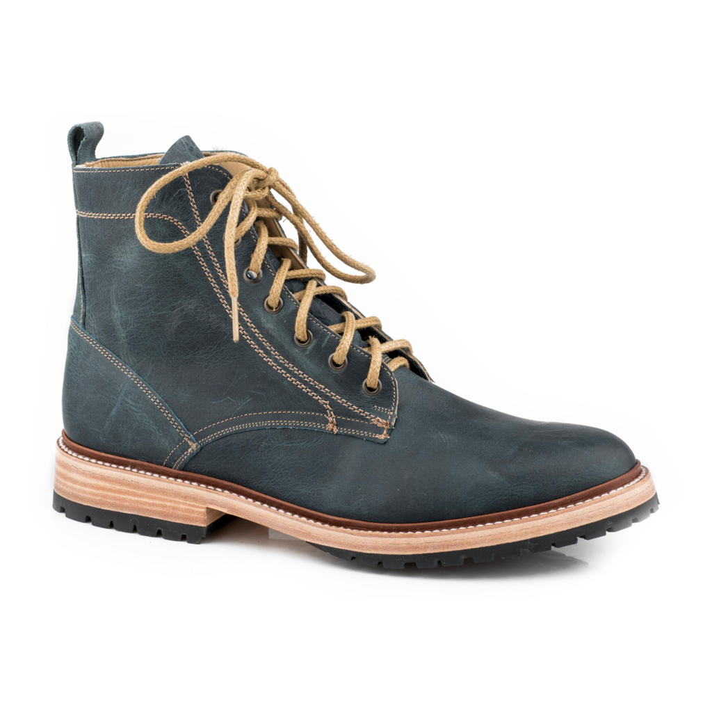 Roper | Oiled Blue Leather Boot